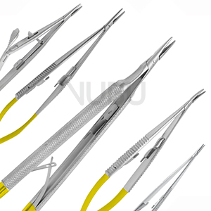 Micro Needle Holders width Tungsten Carbide Inserts