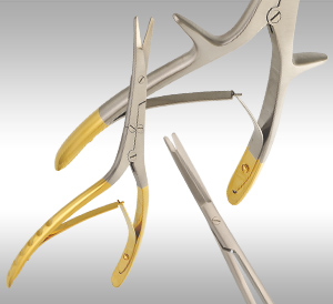 Rhytidectomy Scissors