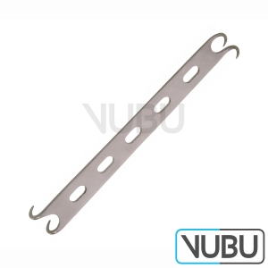 CONVERSE Alar Retractor - double ended - Blade 10 mm - 14mm - blunt - Length 4-3/4'' - 12 cm