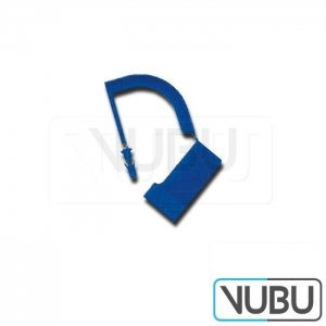 Closing seal plastic blue 100pc. / Pack