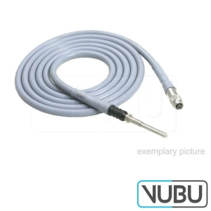 3.5 / 4.8 x 2300mm Y-Fiber Optic Light Cable Standard glued 1x endoscope connector 2x projector connector